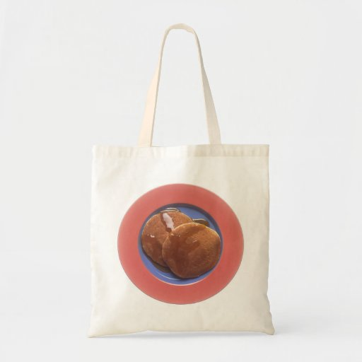 Pancakes with Maple Syrup Canvas Bag