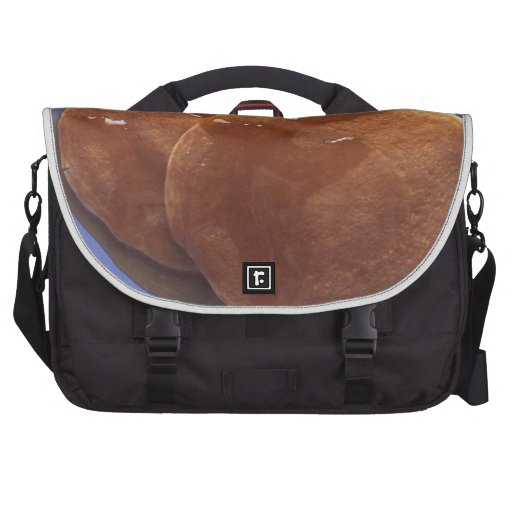 Pancakes with Maple Syrup Laptop Commuter Bag