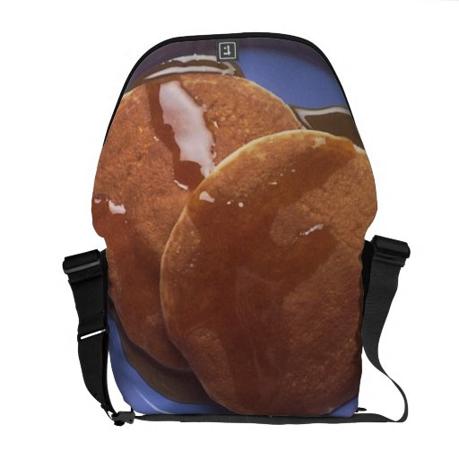 Pancakes with Maple Syrup Messenger Bag
