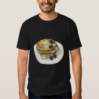 Pancakes With Syrup And Blueberries T-Shirt