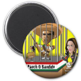Panch O Bandido Fridge Magnets