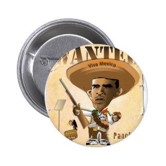 Panch Obama Pinback Buttons