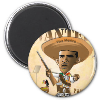 Panch Obama Refrigerator Magnet