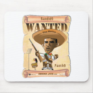 Panch Obama Mouse Pad