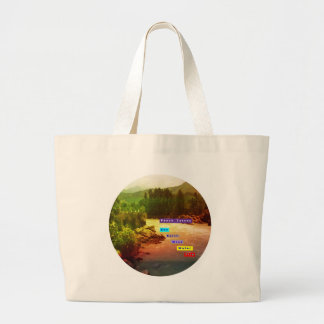 Panch Tatva: Sky Earth Wind Water Fire Canvas Bags