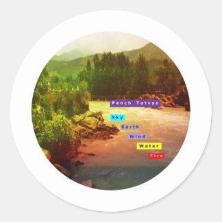 Panch Tatva: Sky Earth Wind Water Fire Stickers