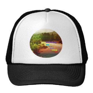 PANCH Tatwa: SKY EARTH WIND WATER FIRE Trucker Hat