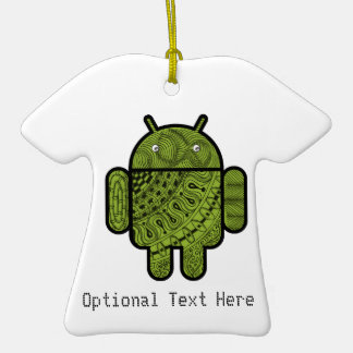 Pancho Doodle Character for Android™ robot Ornament