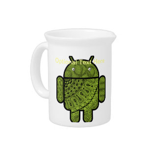 Pancho Doodle Character for Android™ robot Pitchers