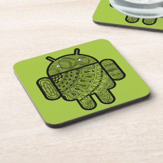 Pancho Doodle Character for the Android™ robot Coasters