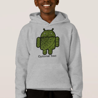 Pancho Doodle Character for the Android™ robot Hoodie