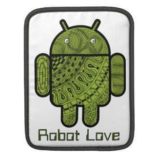 Pancho Doodle Character for the Android™ robot iPad Sleeve