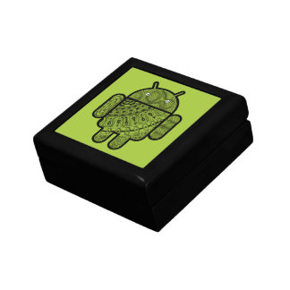 Pancho Doodle Character for the Android™ robot Keepsake Box