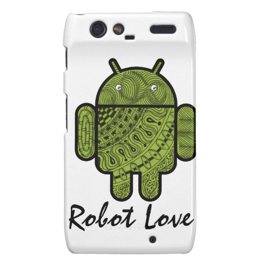 Pancho Doodle Character for the Android™ robot Motorola Droid RAZR Case