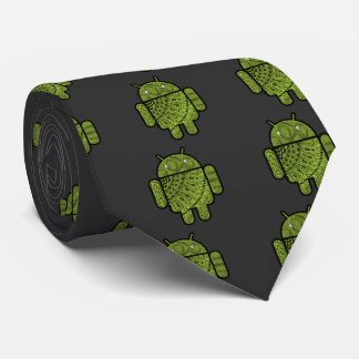 Pancho Doodle Character for the Android™ robot Neck Tie