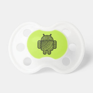Pancho Doodle Character for the Android™ robot Pacifier