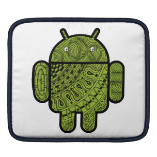 Pancho Doodle Character for the Android™ robot Sleeve For iPads