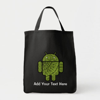 Pancho Doodle for Android™ Tote Bags