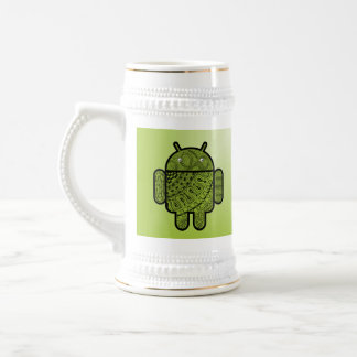 Pancho Doodle for Android™ Beer Stein