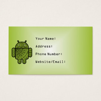 Pancho Doodle for Android™ Business Card