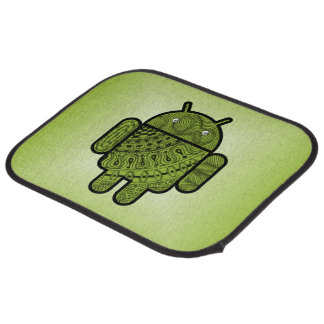 Pancho Doodle for Android™ Car Floor Mat