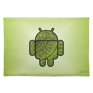 Pancho Doodle for Android™ Cloth Placemat