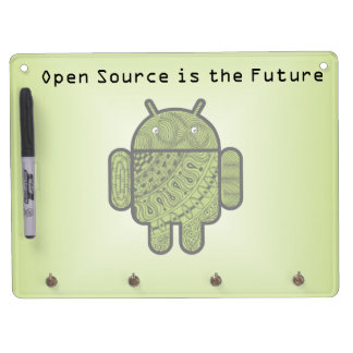 Pancho Doodle for Android™ Dry Erase Board With Keychain Holder