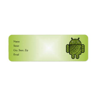Pancho Doodle for Android™ Return Address Labels