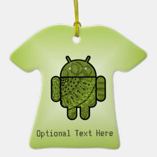 Pancho Doodle for Android™ Christmas Tree Ornaments