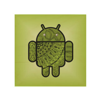 Pancho Doodle for Android™ Wood Wall Decor