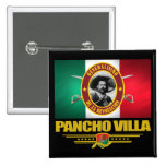 Pancho Villa 1 Pin Cuadrada 5 Cm