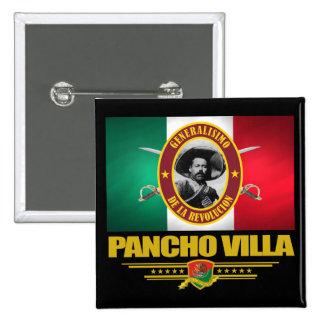 Pancho Villa 1 Pin Cuadrado