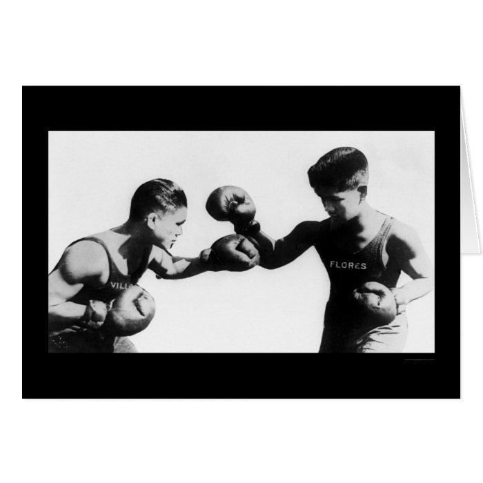 Pancho Villa Boxing Champ 1922 Card