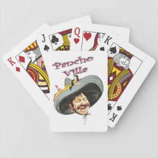 Pancho Villa Mexican General Poker Deck