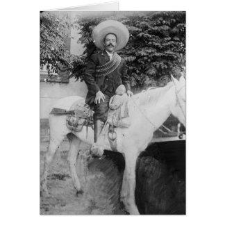 Pancho Villa Mexican Revolutionary General Card