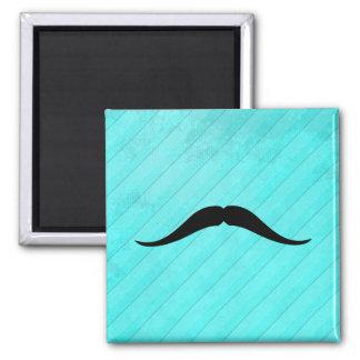 Pancho Villa Mustache 2 Inch Square Magnet