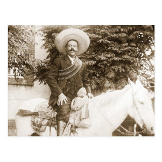 Pancho Villa Postcard
