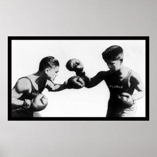 Pancho Villa que encajona al campeón 1922 Impresiones