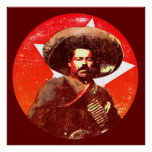 Pancho Villa Stuper Star Poster