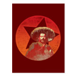 Pancho Villa Vintage Red Star Post Cards