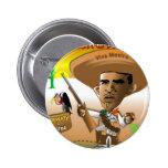 PanchObama Jefe Pin Redondo 5 Cm