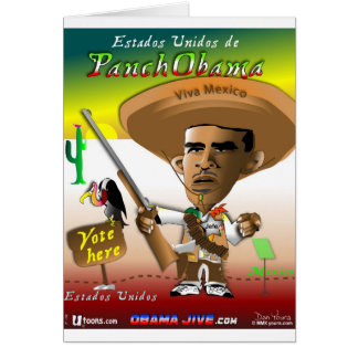 PanchObama Vote Here Card