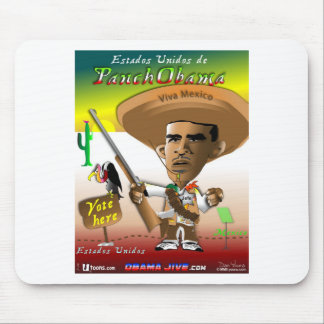 PanchObama Vote Here Mousepads