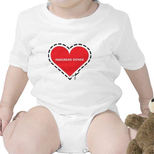 Pancreas Donee Infant Tshirt