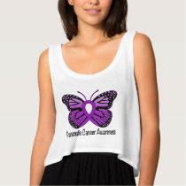 Pancreatic Awareness Butterfly of Hope Tank Top