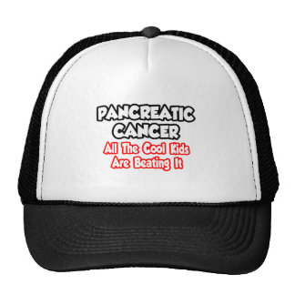 Pancreatic Cancer All The Cool Kids Trucker Hat