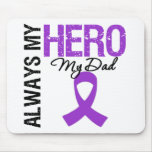 Pancreatic Cancer Always My Hero My Dad Mouse Pad