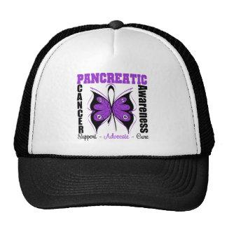 Pancreatic Cancer Awareness Butterfly Trucker Hat