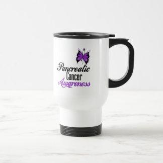 Pancreatic Cancer Awareness Butterfly Coffee Mug