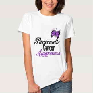 Pancreatic Cancer Awareness Butterfly T-shirt